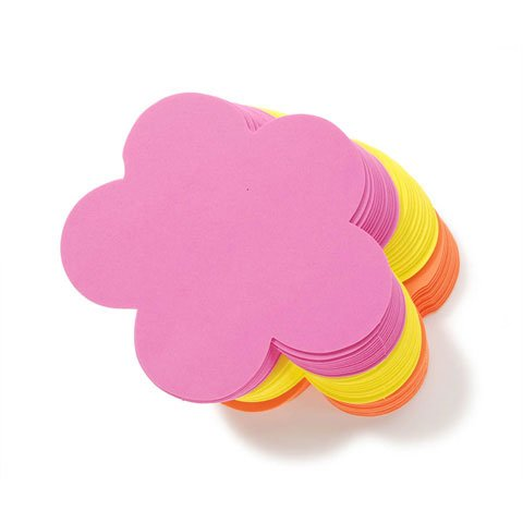 36 Large Foam Flower Shapes -