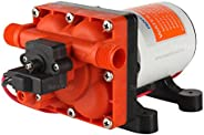 Seaflo 12V DC 3.0GPM 55PSI 42 Series Diaphragm Water Pressure Pump for Caravan/RV/Boat/Marine with Internal By