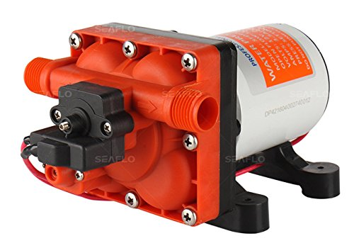 SEAFLO 42-Series Water Pressure Diaphragm Pump w/Variable Flow for Reduced