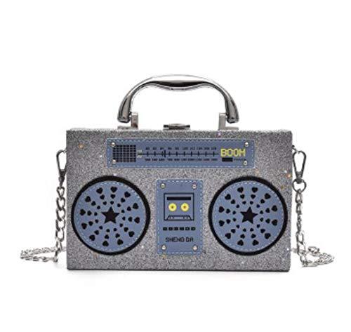 della a Personalità dell'unità pochette borsa Grigio elaborazione mini nero bag signore Rosso crossbody borsa tracolla purs di modo cuoio Pnizun radiofonica messenger femminile di n46Cxww7q