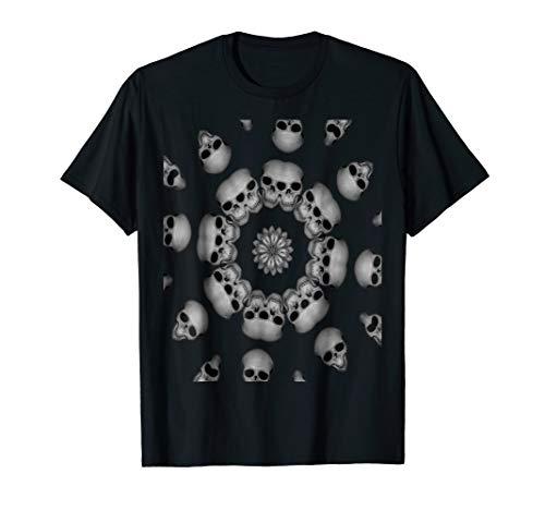 Creepy Human Skull Mandala