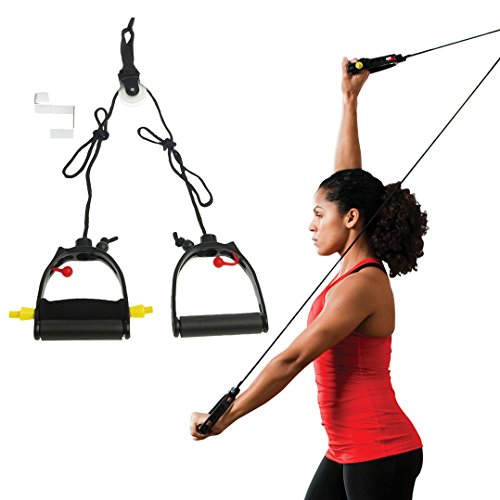 Physical Therapy Pulley - Lifeline Multi-Use Shoulder Pulley Deluxe for Assisting Rehabilitation and Increasing Flexibility