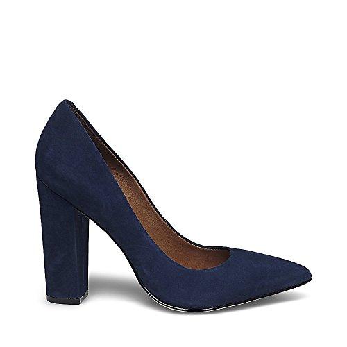 Steve Madden Zapatos de Vestir de Piel Para Mujer Azul Azul Navy
