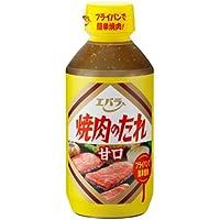 Ebara Yakiniku No Tare Amakuchi Seasoning Sauce for BBQ, mild 300g
