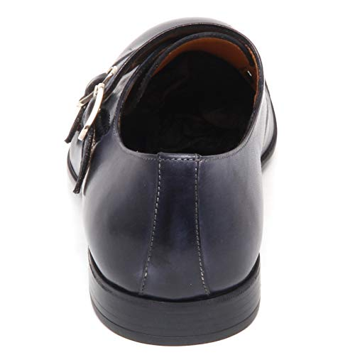 1971 Man Scarpe Vintage Effect Shoe Scarpa E8792 Caracciolo Uomo Blu ITvqwv