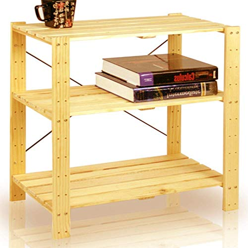 Bookcase End Table Wood Sofa Side Console 3 Shelf Organizer with Storage Room Kids Mini Small Narrow Low Furniture Sturdy Standing Bookcase and Ebook by Maria BARDAKI