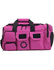 Large Gym Bag with Shoe Compartment - by Rigor Gear - Workout bag for Men & Women with Wet & Dry Pocket, Water...