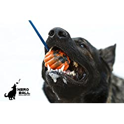41j2dpbq9cL. SS250  - Nero Ball Ultra Dog Training Ball On A Rope