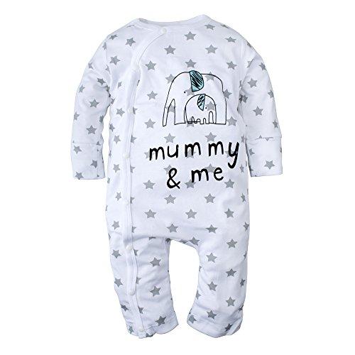 Elephant Piece Sleeve Romper Pajama product image