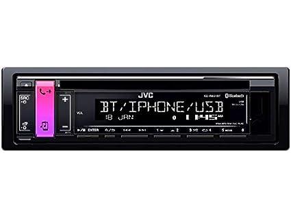 169 Pioneer DEH-3900BT 1DIN Radio Bluetooth Spotify mit Einbauset f/ür FIAT Panda 2003-2012