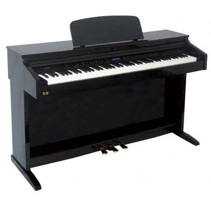 PIANO VERTICAL - Ringway TG8875 Lacado Negro