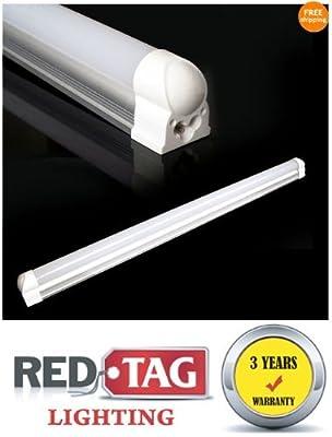 Redtag Lighting® T8 LED Tube Light Bar 85-265V 20W 1980LM 120CM / 4 Ft Natural White 4100K no ballast