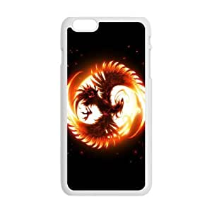 Anime Cool Phoenix Fire Custom Design Apple Iphone 6 Plus 5.5inches Hard Case Cover phone Cases Covers by Maris's Diary