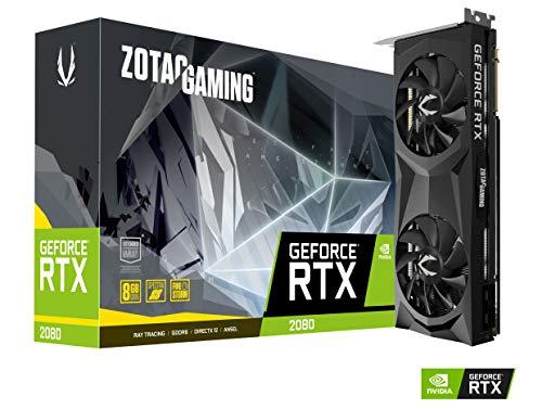 Zotac Zt T20800f 10p Tarjeta Grafica Geforce Rtx 2080 8 Gb Gddr6 256 Bit 4096 X 2160 Pixeles Pci Express X16 30