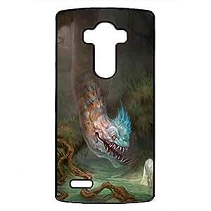 Cartoon Cute The Last Unicorn Durable Phone funda For LG G4 Back Cover