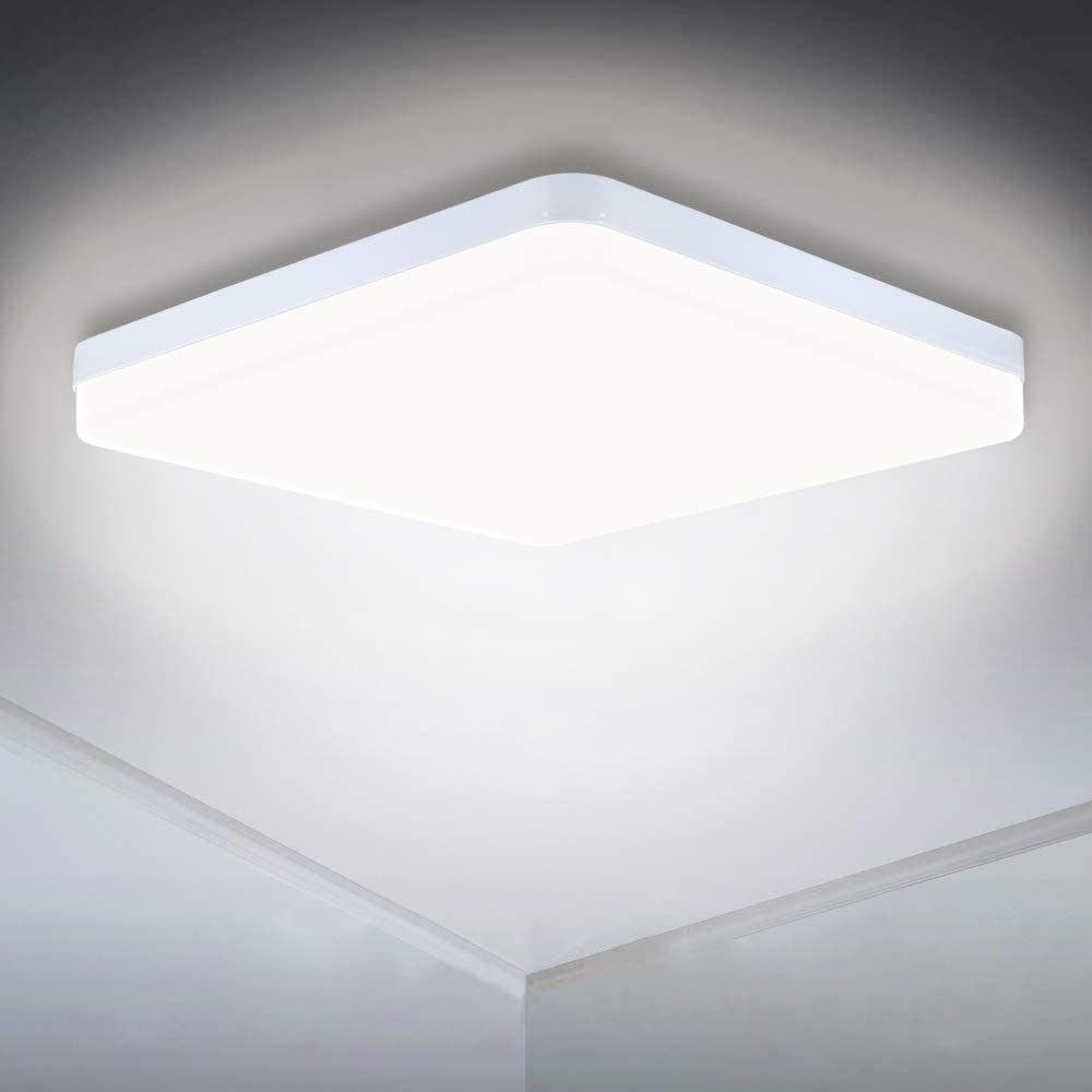 Led Ceiling Lamp 36w 3240lm Led Panel Light Quick Installation White Downlight 4000k Ceiling Lights For Bedroom Living Room Kitchen Hallway Balcony Energy Class A Amazon Co Uk Lighting