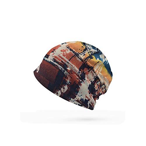 Romantic-cottage Fashion Winter Hats Women Casual Skullies Cap Female Rochet Unisex Cotton Warm Elasticity Hats Casual,01 -