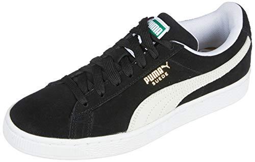 PUMA Suede Classic Sneaker,Black/White,11.5 M US Men's (Watches Puma Man)