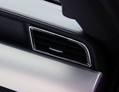 ABS Chrome brillant 2 coques pour a/ération avant de la voiture