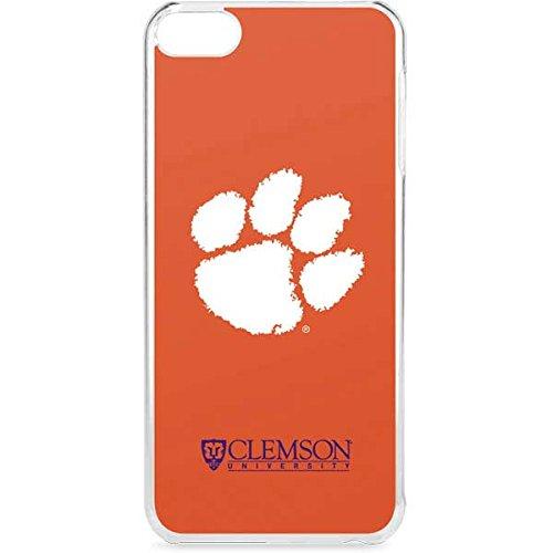Skinit Clemson University iPod Touch 6th Gen LeNu Case - Clemson Paw Mark Design - Premium Vinyl Decal Phone Cover