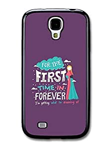 AMAF ? Accessories Frozen For The First Time in Forever Disney Animation Lyrics case for Samsung Galaxy S4