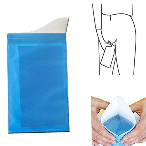 Janitorial & Sanitation Supplies - Honana Tx-982 Bathroom Portable Mini Emergency Toilet Urinate Bag Travel Outdoor Pee Vomiting Bag - Lavatory Suitcase Puddle Handbag Commode Piss Purse - 1PCs