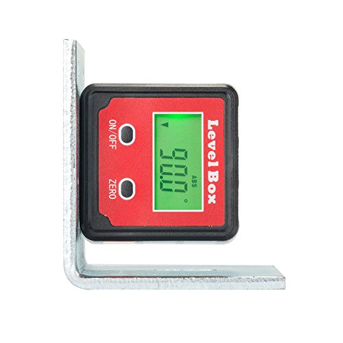Co Z Digital Angle Gauge Level Protractor Angle Finder Bevel Gauge Inclinometer With Backlight And Magnetic Base  Electronic Angle Finding For Table Miter Brand Saw  Accurate Digital Level
