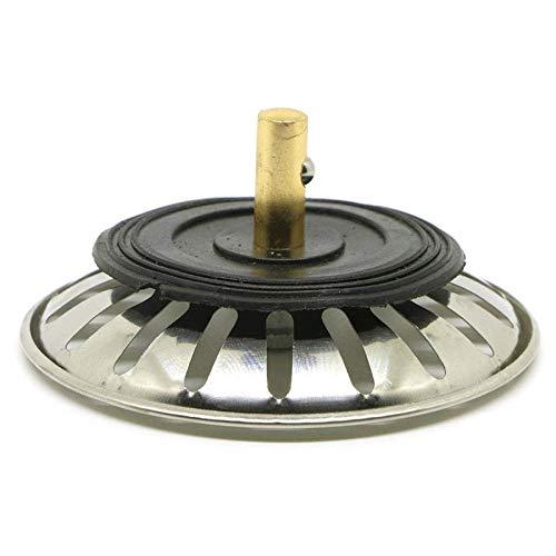 Hengbaixin tappo per filtro di scarico in acciaio inox per lavello e cucina 1 pezzo