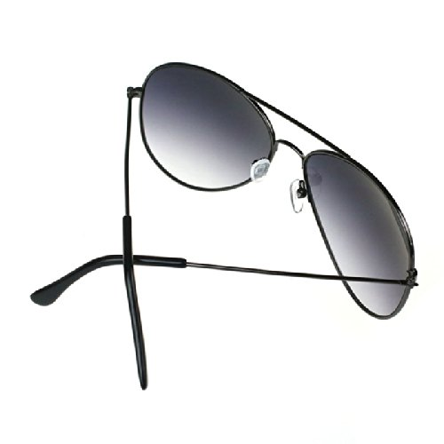Gris Marco del Espejo Gusspower de Metal Sol Aviador Clásico gris Lente Gafas de Un1qTP