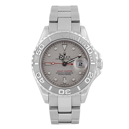 Rolex Yacht-Master swiss-automatic silver womens Watch 16...