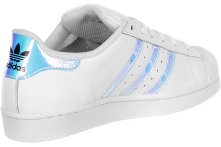 Adidas Superstar Metallic White/Silver