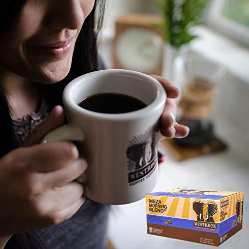 Westrock Coffee Company Meza Morning Blend Best Medium Roast Gourmet Single Serve Cup 80 Count by Westrock Coffee Company (Image #6)