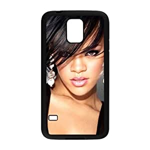 Rhianana Samsung Galaxy s5 Black Cell Phone Case GSZWLW3373 Cell Phone Cases