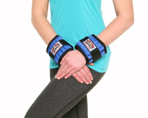 All Pro Weight Adjustable Wrist Weights, 4-Pound by All Pro