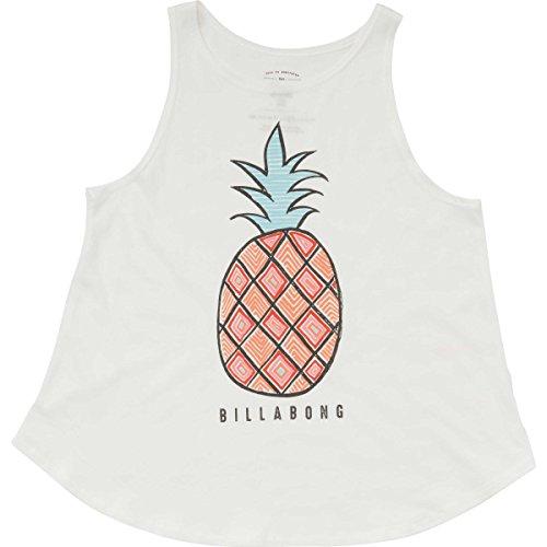 Billabong Girls' Girls' Hey Pineapple Tank Cool Wip Large Billabong Girls Tank Top