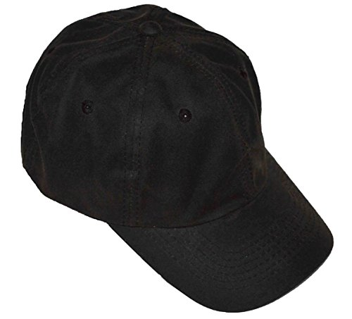 Dorfman Pacific Polo Style Low-profile Oil Cloth Water Repellent Baseball Cap (Brown )