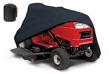 """Impermeable Equitación césped Tractor cortacésped Cover, compatible con hasta 54 """"cubiertas con elástico"""