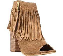 Carlos by Carlos Santana Women's Jasper Ankle Bootie, Brulee, 9.5 M US
