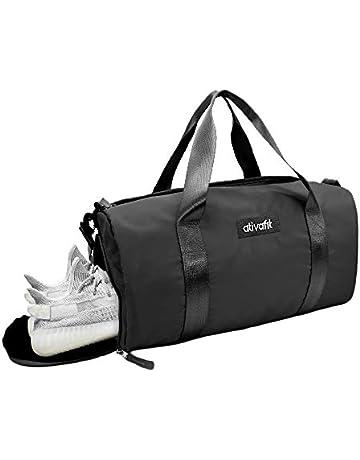 39abfa992e4 Ativafit Women Gym Bag with Shoes Compartment Sports Swim Travel Overnight  Duffels
