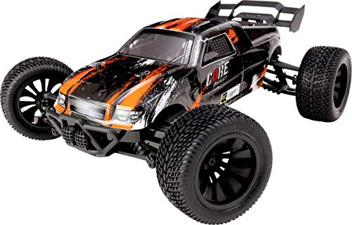 RC LOGGER Core Brushed 1:10 XS RC Truggy, Model No.: 70001RC , Electric Power, 4WD, RTR, 2.4 GHz, Model Car, with USB Charger