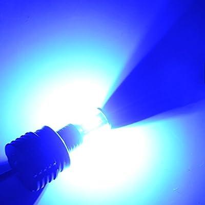 SINOVCLE H8 Angel Eyes E92 LED Marker Halo Ring High Power H8 2x 40W 80W E60 E61 E90 E92 E70 E71 E82 E89 1 3 5 Series X5 X6 Z4 (blue light): Automotive