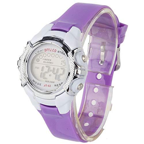 iNoDoZ Fashion Sport Watch,Children Digital LED Quartz Alarm Date Sports Outdoor Wrist Watch Kids Casual Watch ()