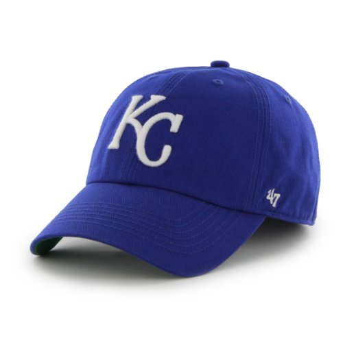 MLB Kansas City Royals '47 Franchise Fitted Hat, Royal, (Vintage Baseball Teams)