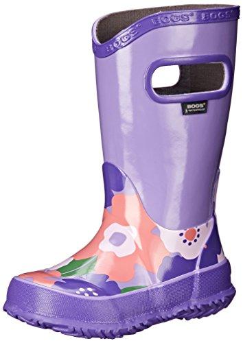Bogs Spring Flowers Rain Boot (Little Kid/Big Kid) - Viol...