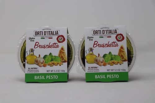 Orti DItalia Basil Pesto Bruschetta