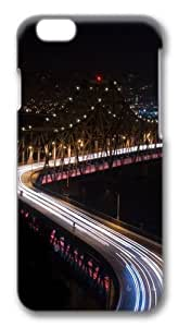 Bridge night lights long Exposure Polycarbonate Hard Case Cover for iphone 6 plus 5.5 inch 3D