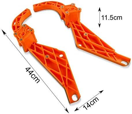 Carenatura Batwing per Harley Electra Glide Ultra Limited 09-13 Kit arancione