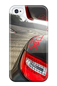 New Style Tpu 4/4s Protective Case Cover/ Iphone Case - Porsche 911 Gt3 Rs