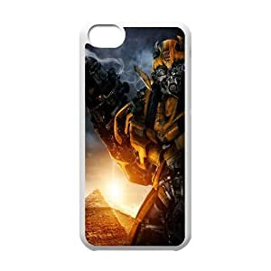QSWHXN Print Transformers Pattern PC Hard Case for iPhone 5C