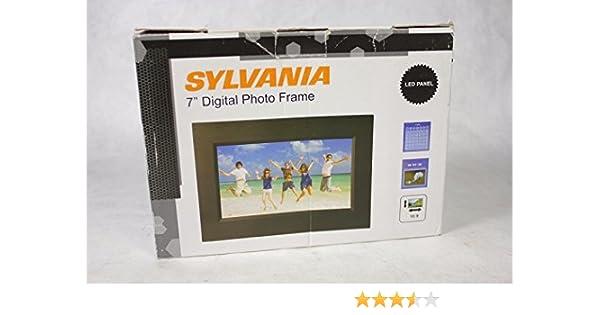 Amazon.com : Sylvania SDPF785 7 Digital Photo Frame : Digital ...